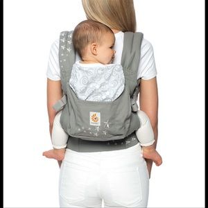 Ergo baby carrier gray with stars
